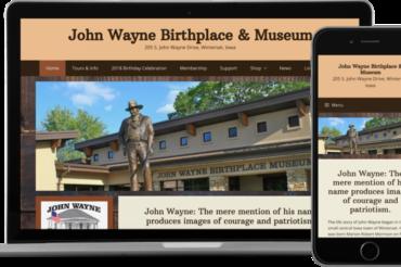 John Wayne Birthplace & Museum Website