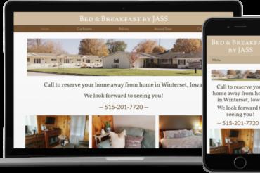 Bed & Breakfast by JASS Website