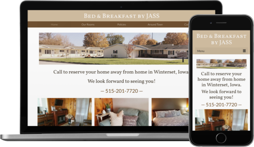 Bed & Breakfast by JASS Website