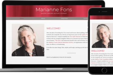 Marianne Fons Website