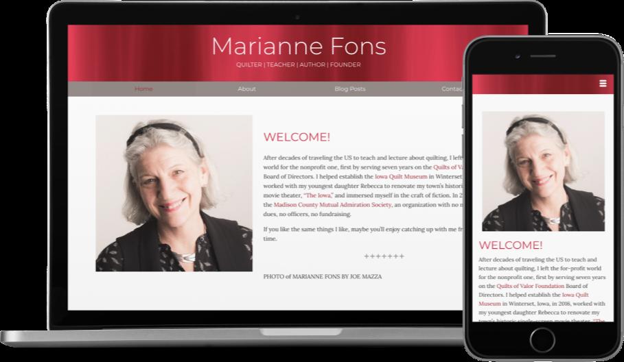 Marianne Fons Blog