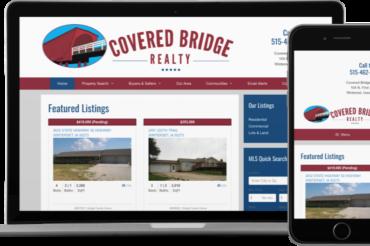 Covered Bridge Realty Website