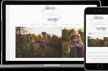 Alia Morgan Photography Website