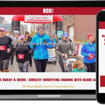 Blood Sweat & Beers 5K Website