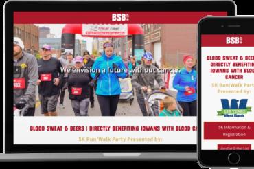 Blood Sweat & Beers 5K Website