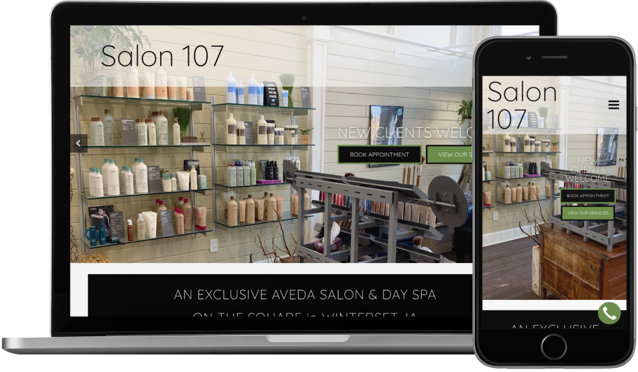 Salon 107 – Aveda
