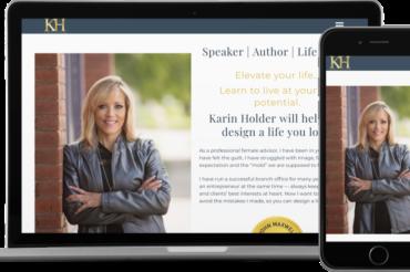 Karin Holder Website