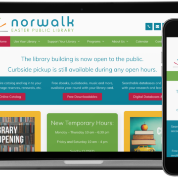 Norwalk Easter Public Library Website